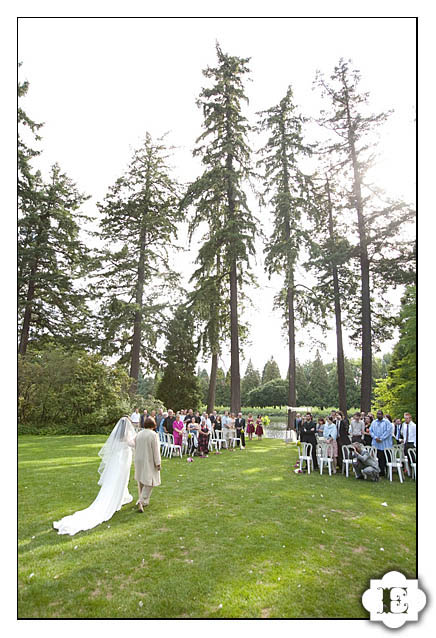 Crystal Springs Rhododendron Garden Wedding