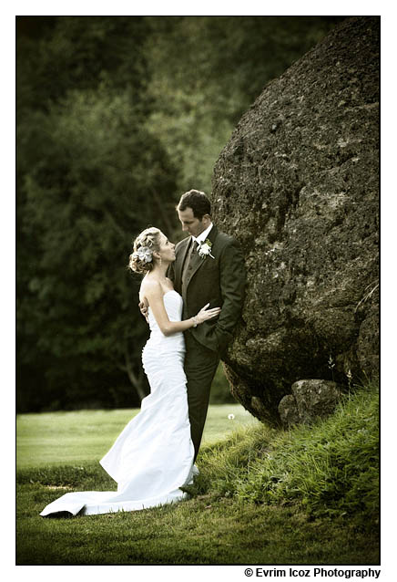welches mt hood golf wedding