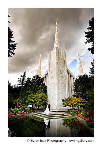 Ambassador Ballroom and Portland LDS Temple