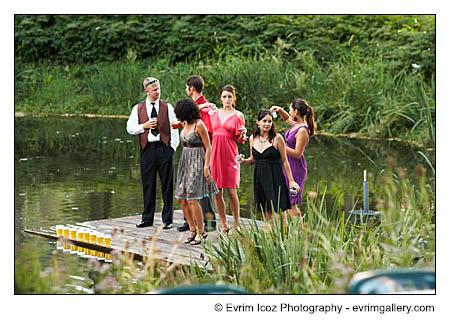 Bridal Veil Lakes Wedding Reception and Ceremony