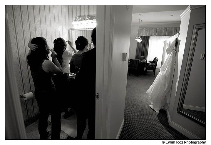 Portland Embassy Suites Wedding Reception