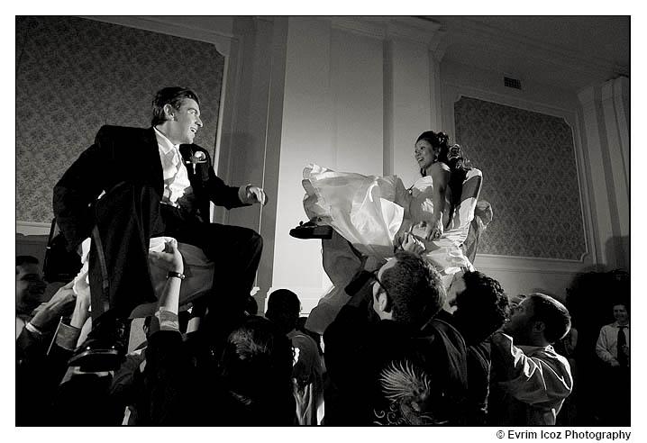 Jewish chair dance Hora