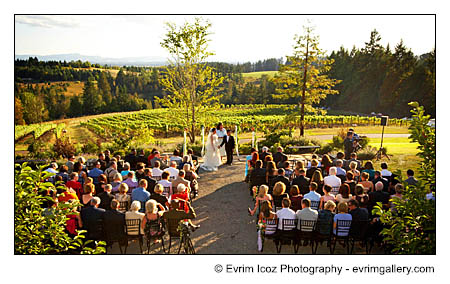 Garden Vineyards Wedding Reception and Ceremony Pictures