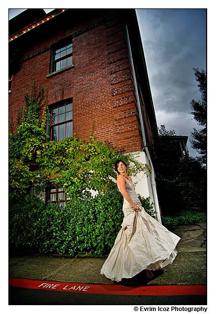 Edgefield Fall McMenamins Wedding