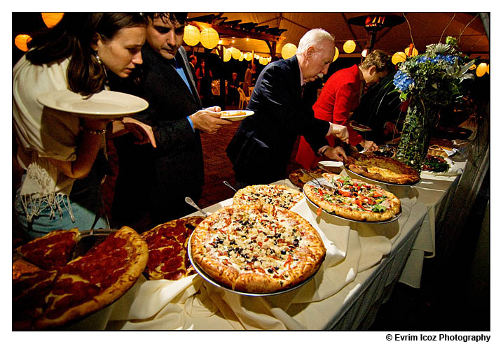 did somebody order a pizza reception project wedding On pizza wedding reception