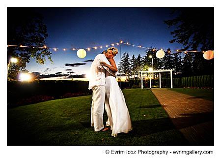 Portland Aerie at Eagle Landing Golf Club Oregon Wedding