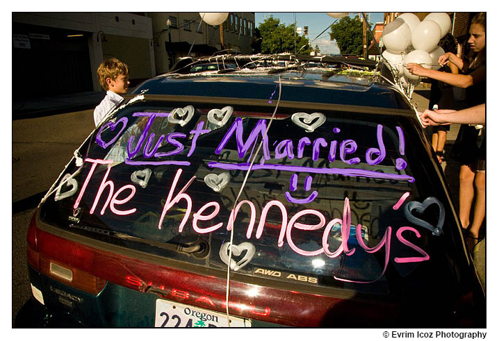 Movie Theater Wedding at Puyallup Washington