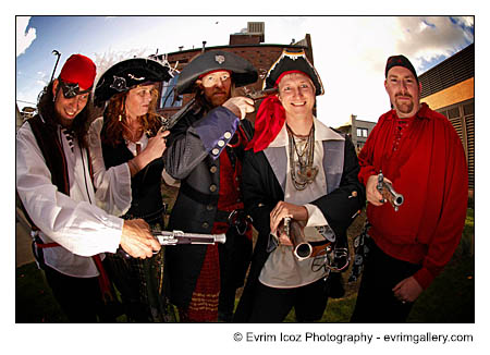 Pirate Wedding in portland
