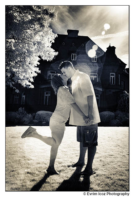 Love Story Photography at Pittock Mansion