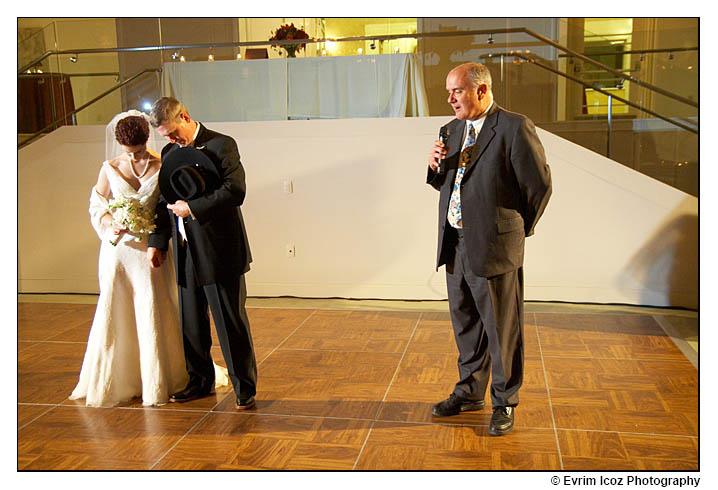 Portland Art Museum Sunken Ballroom Wedding