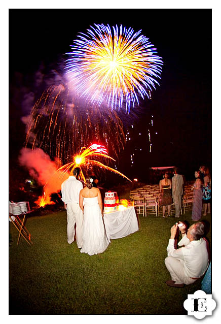 fireworks fire works puerto vallarta Wedding